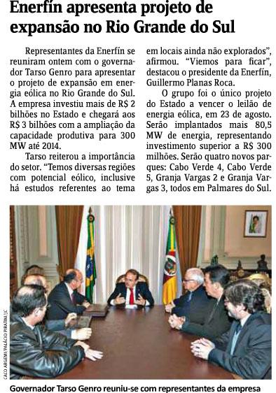 25.09 - JORNAL DO COMÉRCIO - ENERFIN